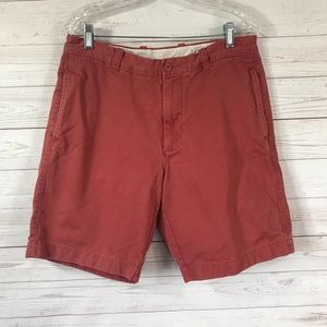 J.Crew broken in chino shorts sz 33 (actual 32)